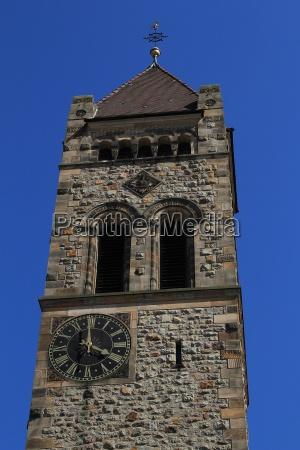 peterskirche weinheim two castles city