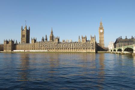 houses of parliament w londynie