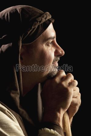 man depicting joseph