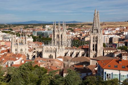 katedra w burgos castilla y leon