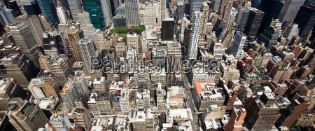 panorama of manhattan new york city