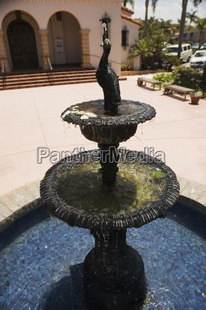 kolor sklepienie usa kalifornia ameryka fontane