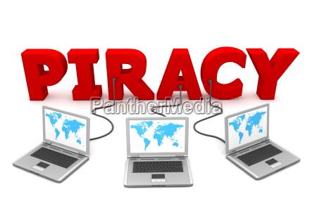 slowo trzy vokabel piractwa piractwo komputerow