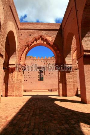 antyczny meczet w maroku