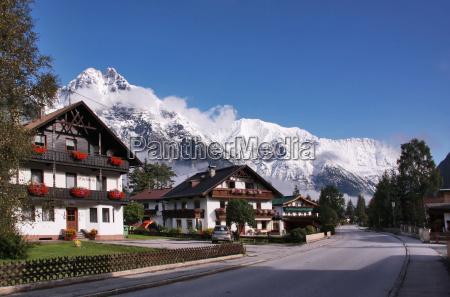 domy gory austria tyrol gmina wies