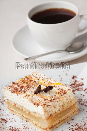 filizanka ciasto ciastko pierog ciasta gruszka