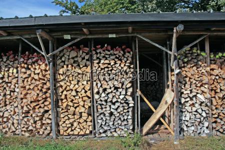przepisy zapas drewno drewna luska przechowywac
