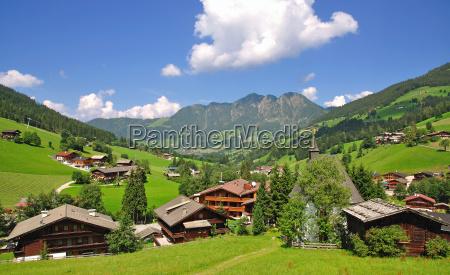 inneralpbach w dolinie alpbach