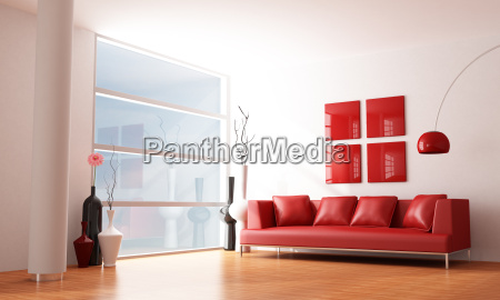 minimalistyczne salon