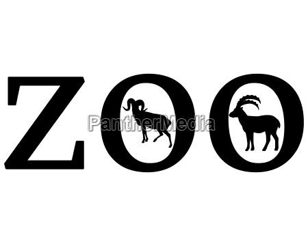 sinal opcional jardim grafico animal cabra