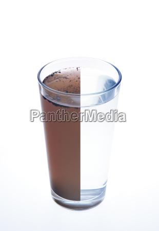 czysta, i, brudna, woda, w, jednej - 4653594