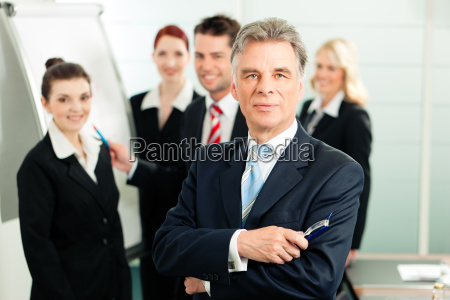 biznes zespol w biurze