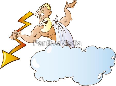 grecki bog zeus