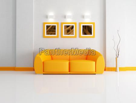 mebel wnetrze mur kanapa sofa kanapee