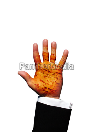 america hand