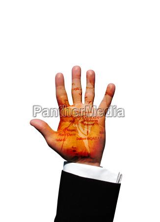 bahrain hand