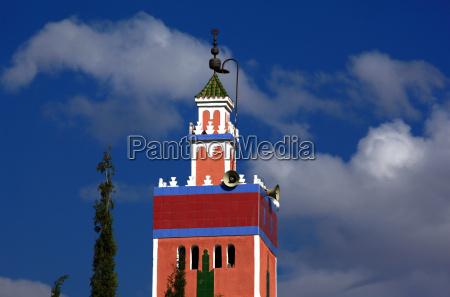 minaret w maroku