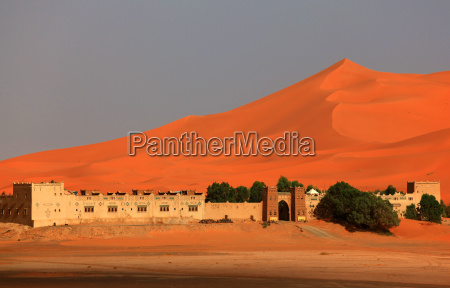 hotel wydma maroko sahara kasbah erg