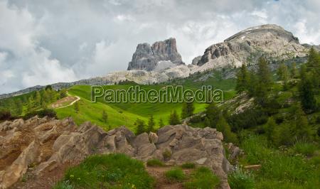 gory dolomity poludniowy tyrol gora