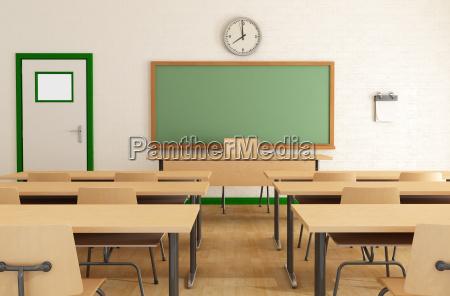 klasie bez studentow