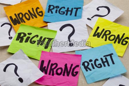 zle czy dobre pytanie etyczne