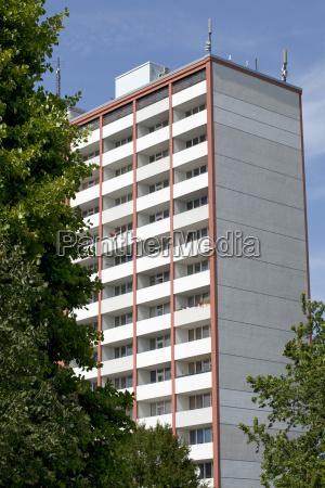skyscraper in kiel germany
