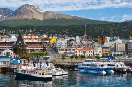 port w ushuaia tierra del fuego