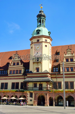 leipzig old town hall leipzig
