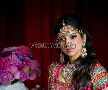 piekna indyjska panna mloda
