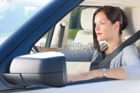 kobieta womane baba samochod automobil gefaehrt
