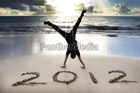 happy new year 2012 on the