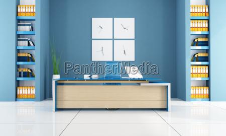 niebieski biuro ksiazka porzadek znak biurko