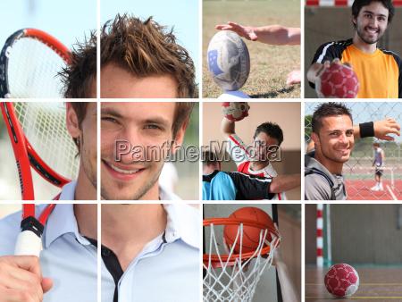 sport kolaz