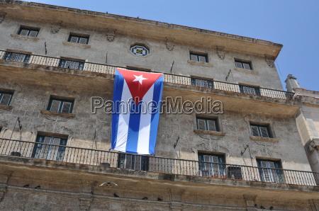 cuba cuba havana national flag