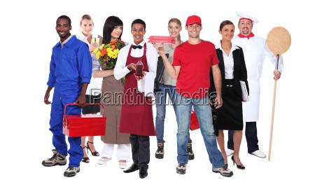 wybrani pracownicy