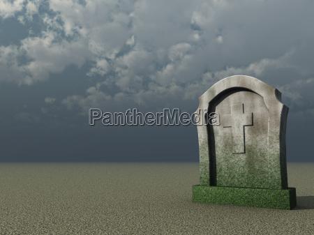 niebo raj niebiosa krzyz nagrobek pochowek