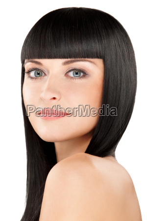 idealna brunetka