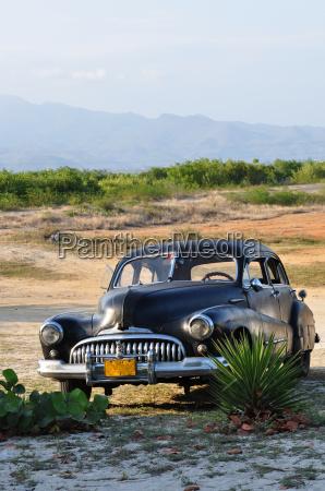 trinidad in cuba classic car