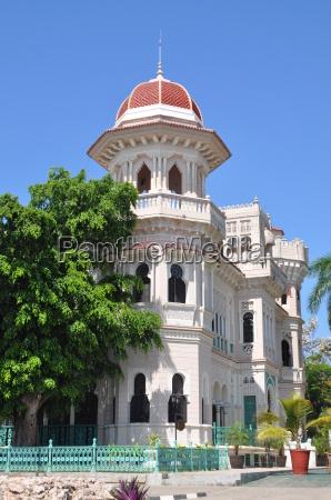 moorish palace in cienfuegos cuba