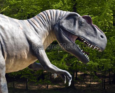 krokodyl nielaskawy dinozaur jura potwor prehistoryczne