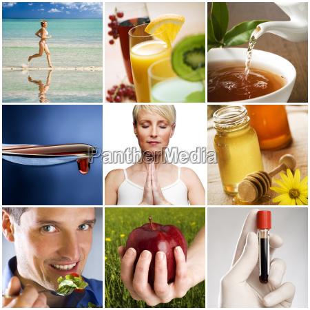 zdrowie zdrowia styl zycia kolaz zdrowy
