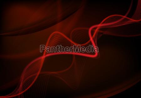 ilustracja futurystyczny dynamicznie tlo czerwone czerwony
