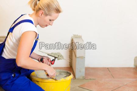 kobieta womane baba rzemieslnik przeplyw splyw