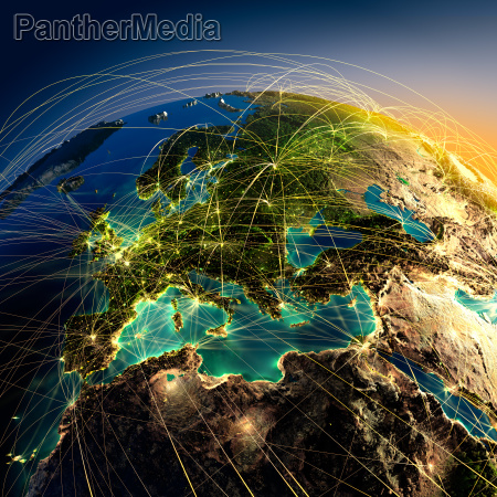 transport trasa linia lotnicza trasy globus