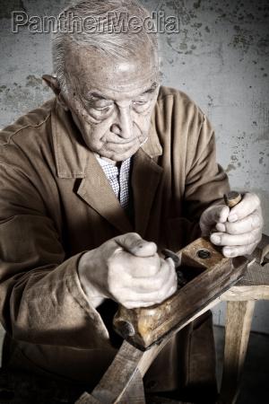 carpenter portrait