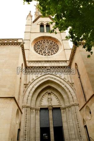 church of santa eulalia majorca in