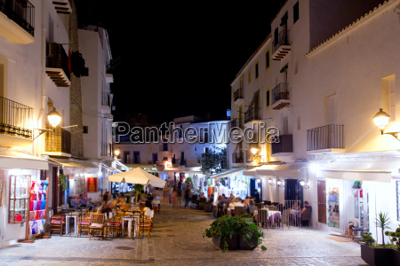 ibiza dalt vila nightlife under night