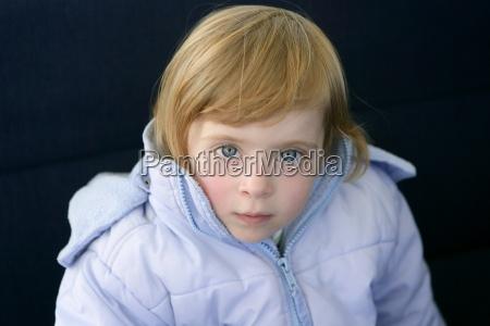 beautiful blond toddler little girl