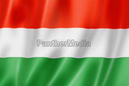 flaga bandera wlokienniczy tekstylia wegry satyna