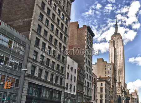 street view of the empire state
